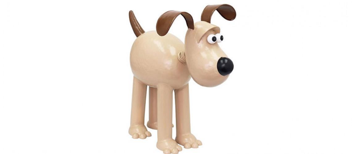 Gromit uit 'Wallace & Gromit'