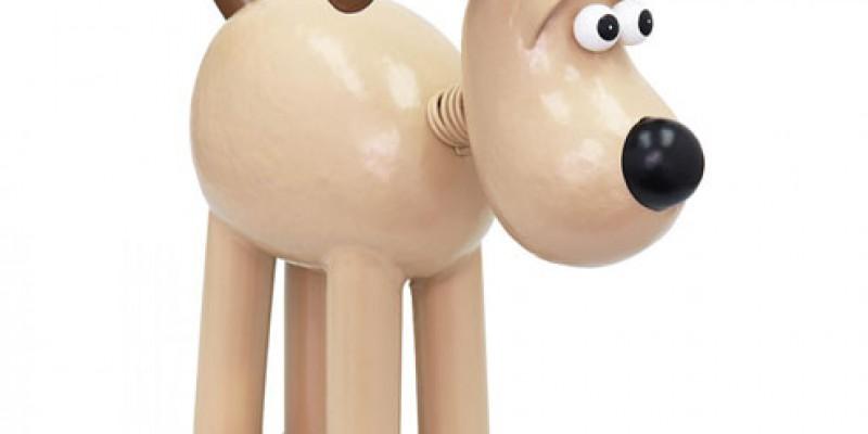 Vanaf nu verkrijgbaar: 'Gromit' uit de bekende filmreeks 'Wallace & Gromit'