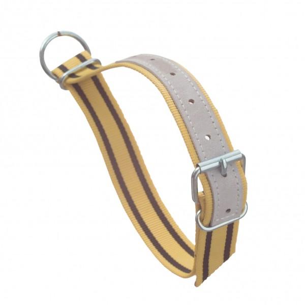 Kalverhalsband met D-ring 90 cm