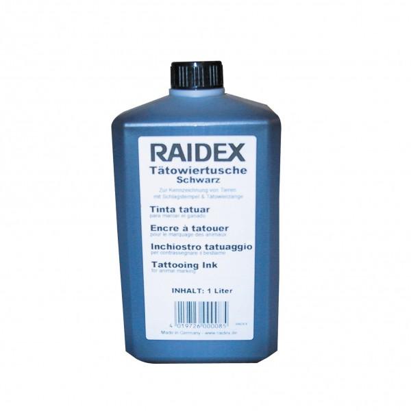 Tatoeëerinkt Raidex vloeibaar 1 liter