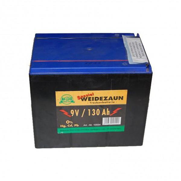 Batterij 9V/130Ah Göbel