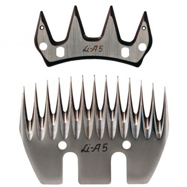 Stel messen 'A5' 4/13 tanden Liscop