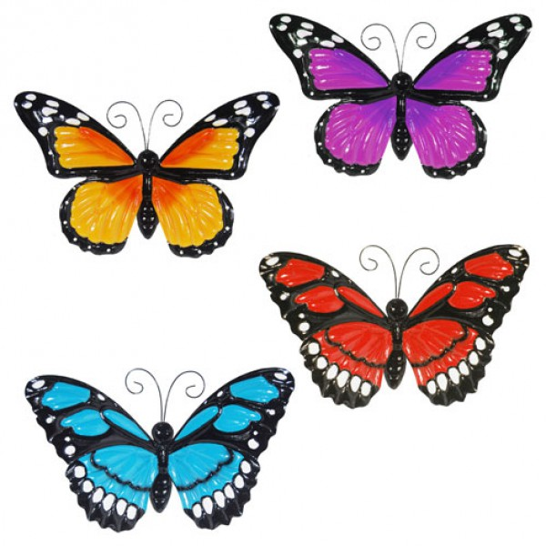 'Large Metal Butterfly with Flapping Wings' Primus