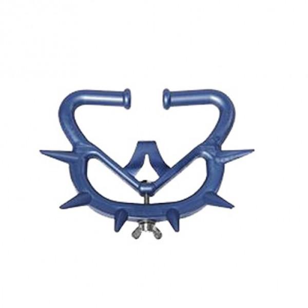 Antimelk-prikring Müller '2010' blauw voor grootvee