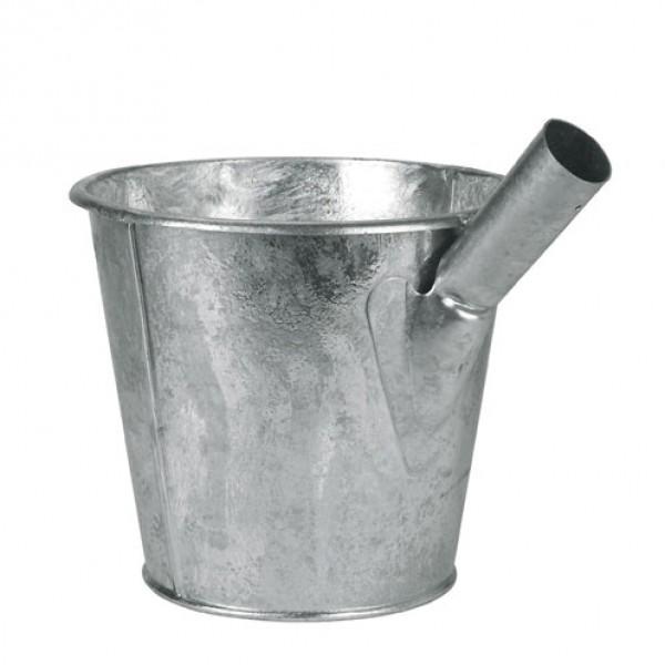 Putemmer verzinkt zonder steel 6,5L