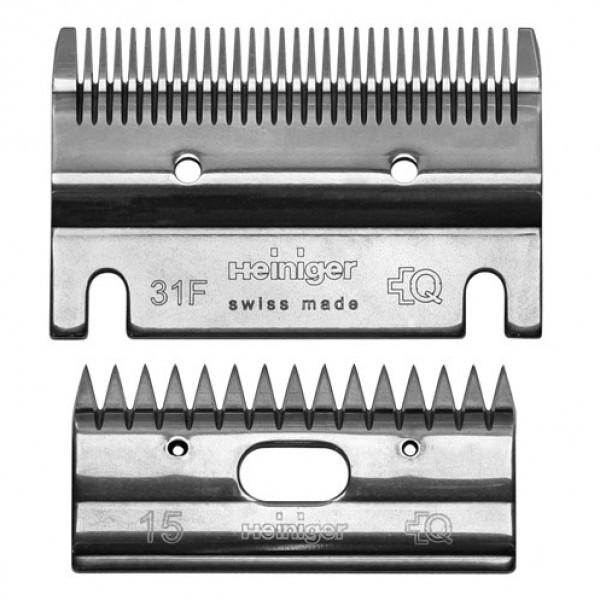 Heiniger 703-560 stel messen 31F/15 tanden