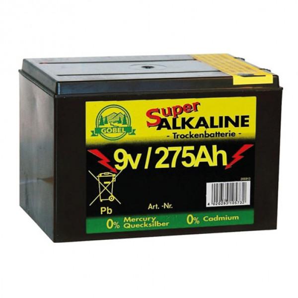 Alkaline batterij 9V/275Ah Göbel
