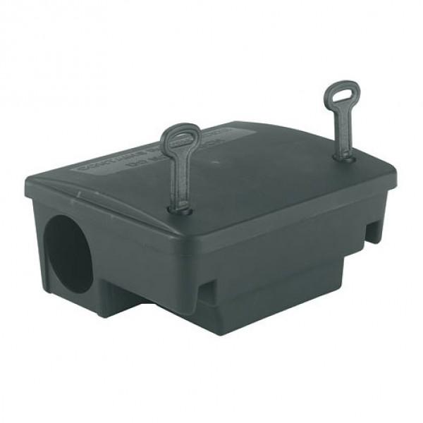 Lokaasdoos 'Beta' voor ratten, incl. muurbeugel 22,5x18,5x9,5cm