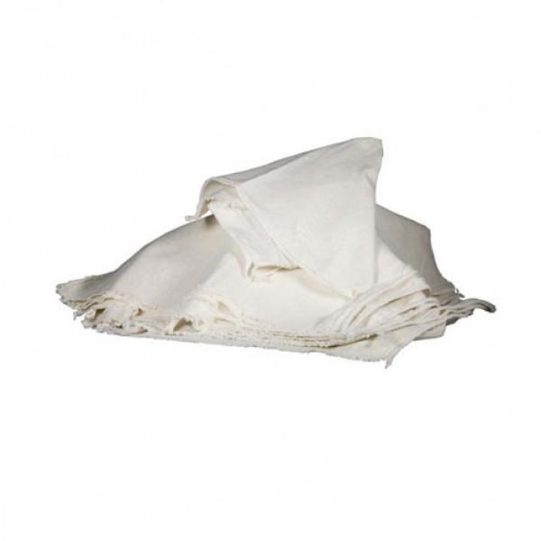 Katoenen uierdoeken 52 x 45cm, per 10 stuks