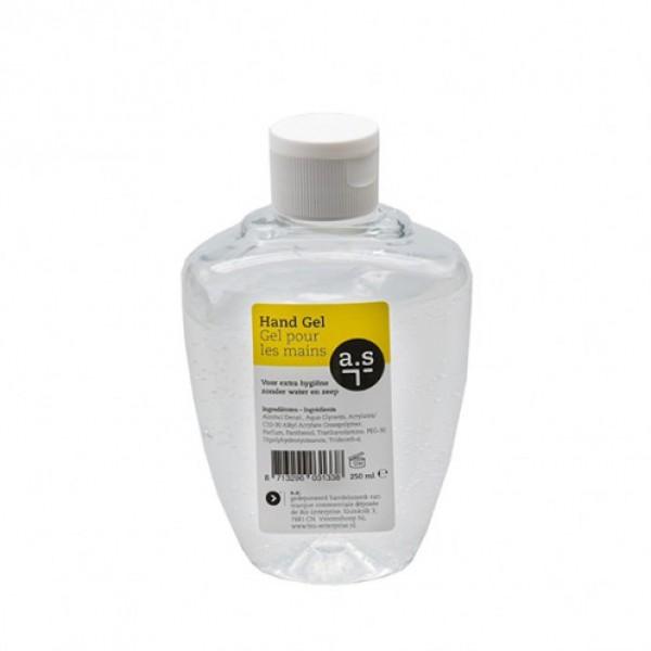 Handgel, fles met fliptop dop 250ml