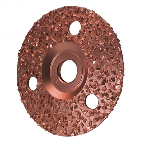 Hoefschijf Göbel gedraaid 2-zijdig, 125 mm
