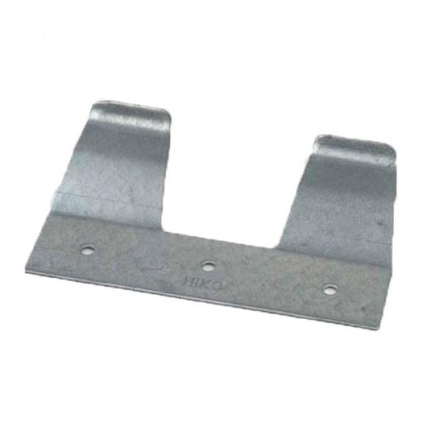Metalen ophangplaatje voor speenemmer