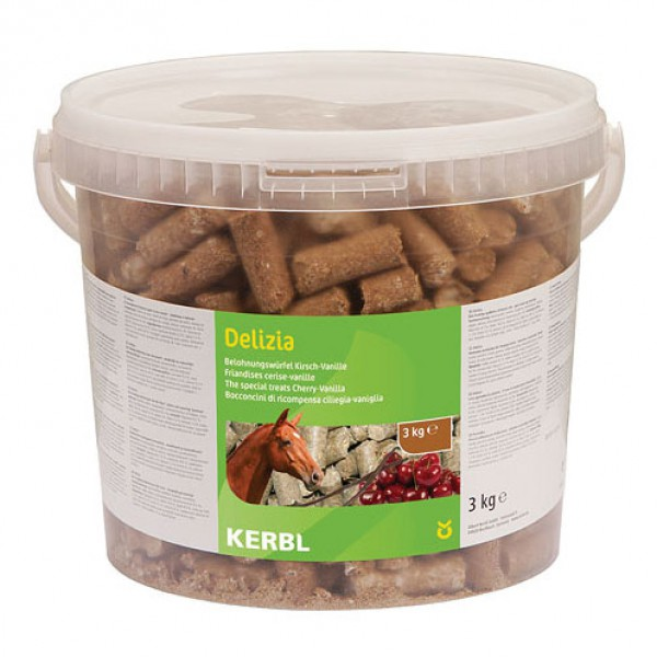 Delizia the Special Treats - Vanille/Kers 3kg