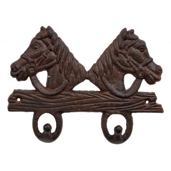 2 horse coat hook Primus