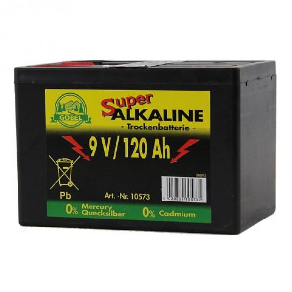 Alkaline batterij 9V/120Ah Göbel