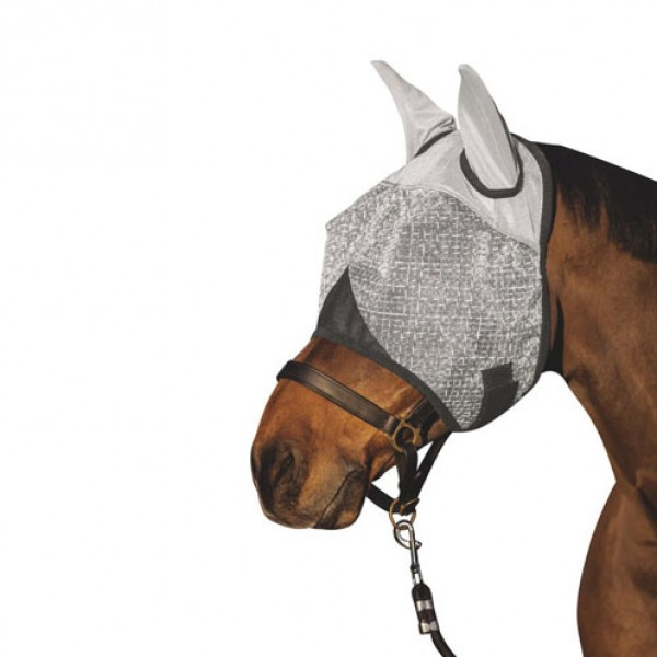 Vliegenmasker met oorbescherming en UV-bescherming