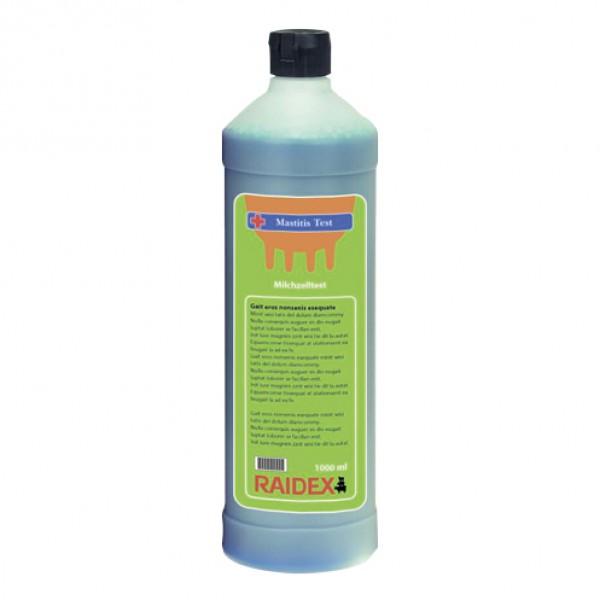 Melktestvloeistof blauw 1 liter Raidex
