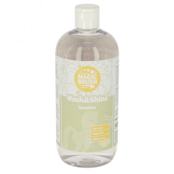 Wash & Shine shampoo 'Sensitive' 500ml MagicBrush
