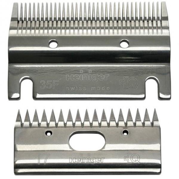 Heiniger 703-550 stel messen 35F/17 tanden