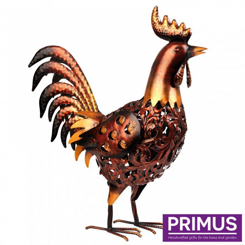 Brass Solar Rooster Primus