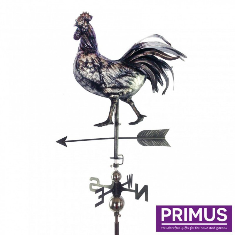 3D Rooster Weathervane with Garden Stake PRIMUS