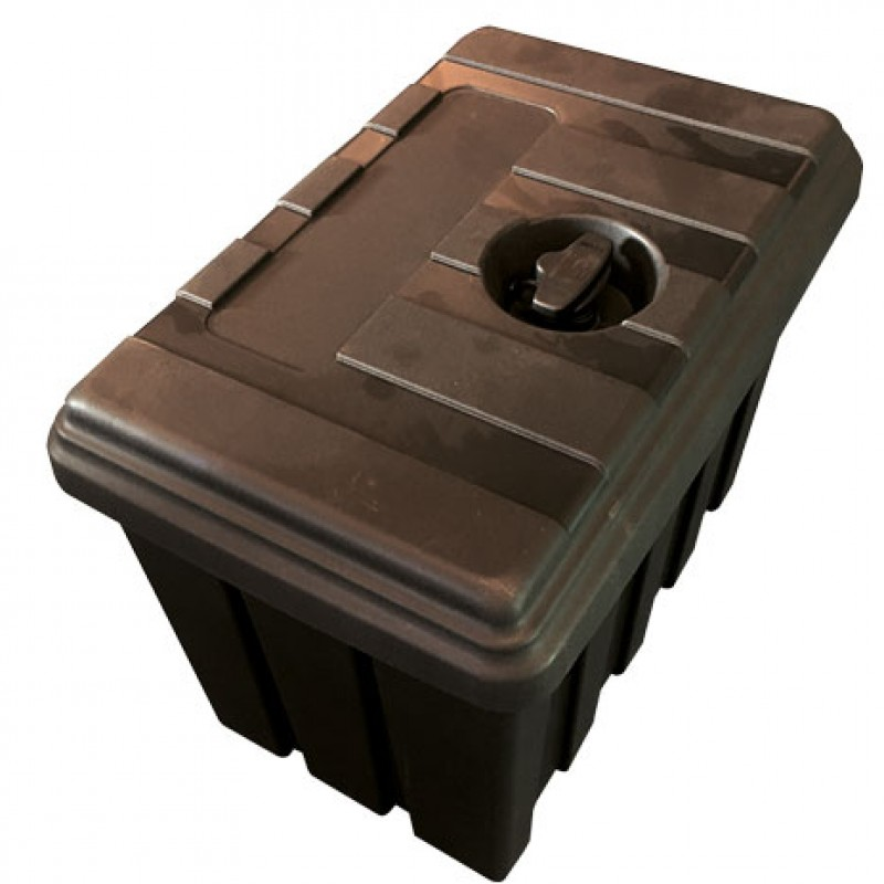 Afsluitbare kunststof koffer