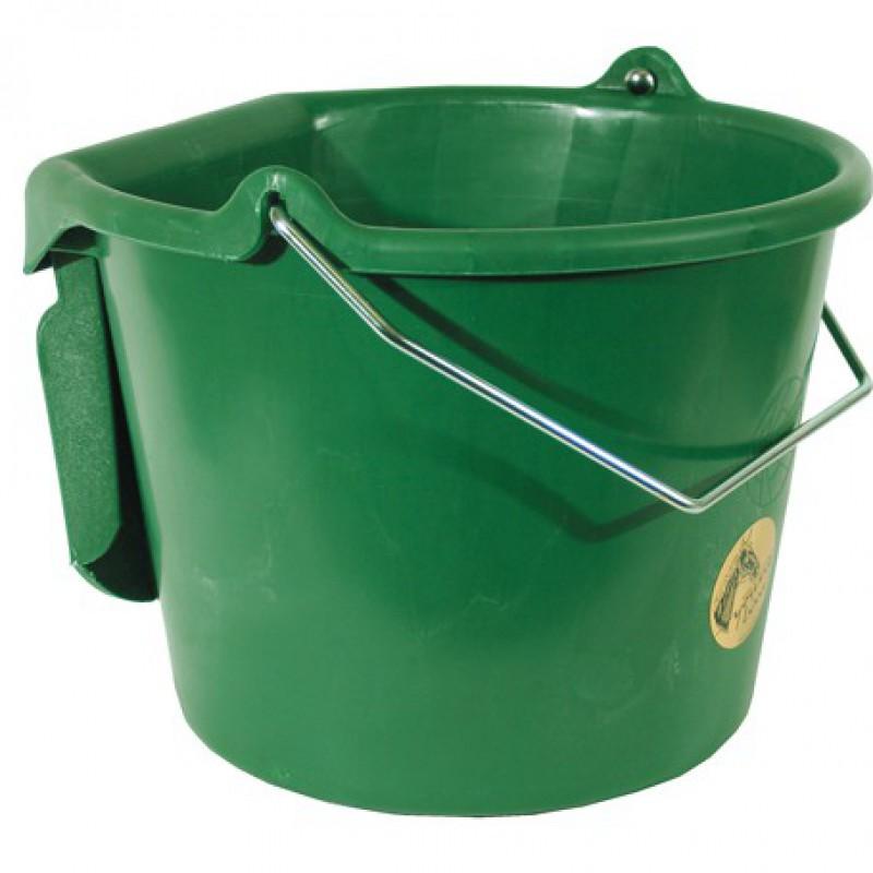 Kunststof emmer met platte kant 20 liter