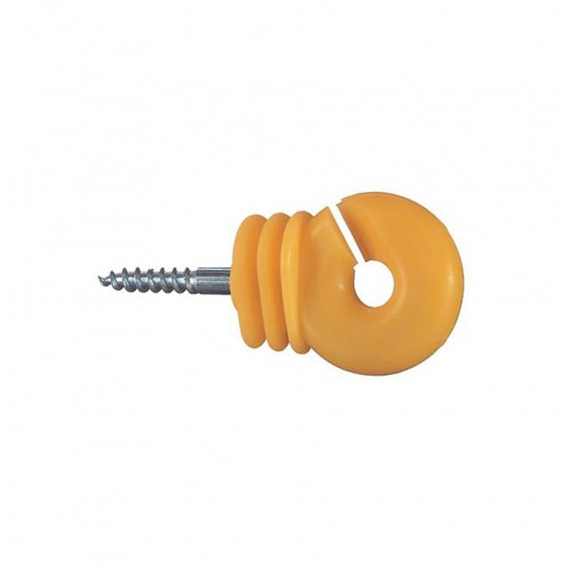 Ringisolator 'Jumbo' geel, 25 stuks Göbel