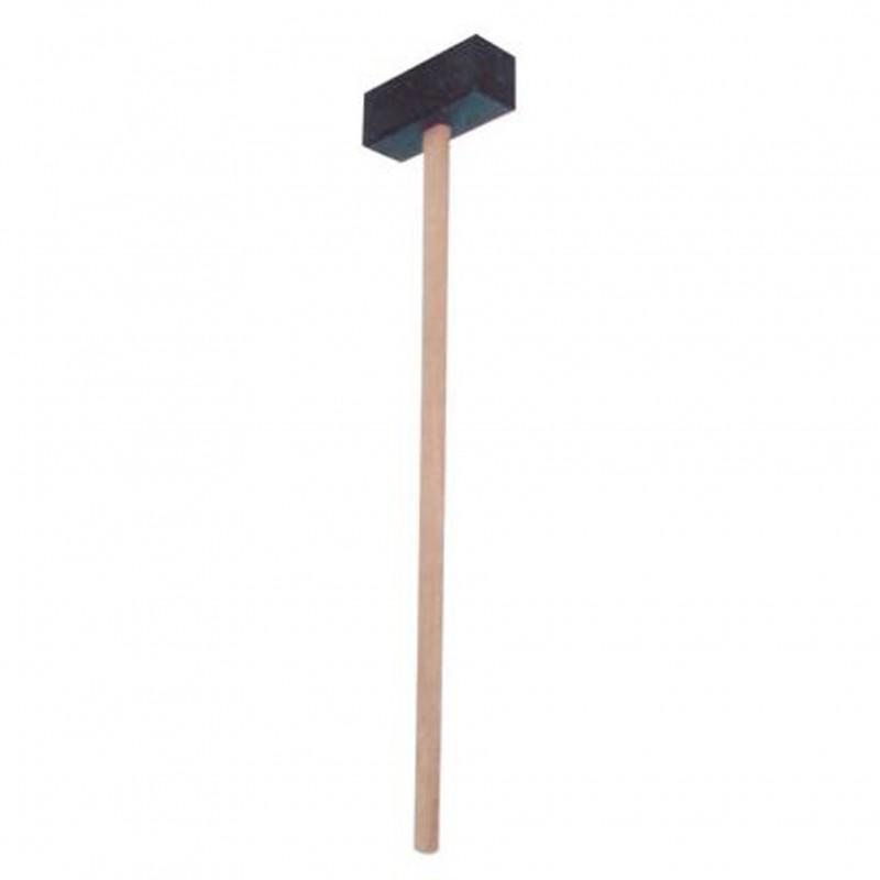 Kunststof hamer met steel