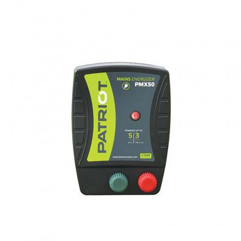 PMX 50 lichtnet-apparaat Patriot