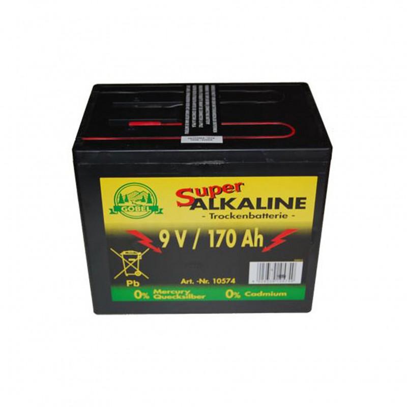 Alkaline batterij 9V/175Ah, Göbel