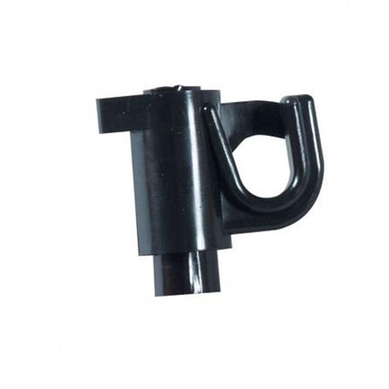 Isolator voor glasvezel paaltje 10mm, 25 stuks, Göbel
