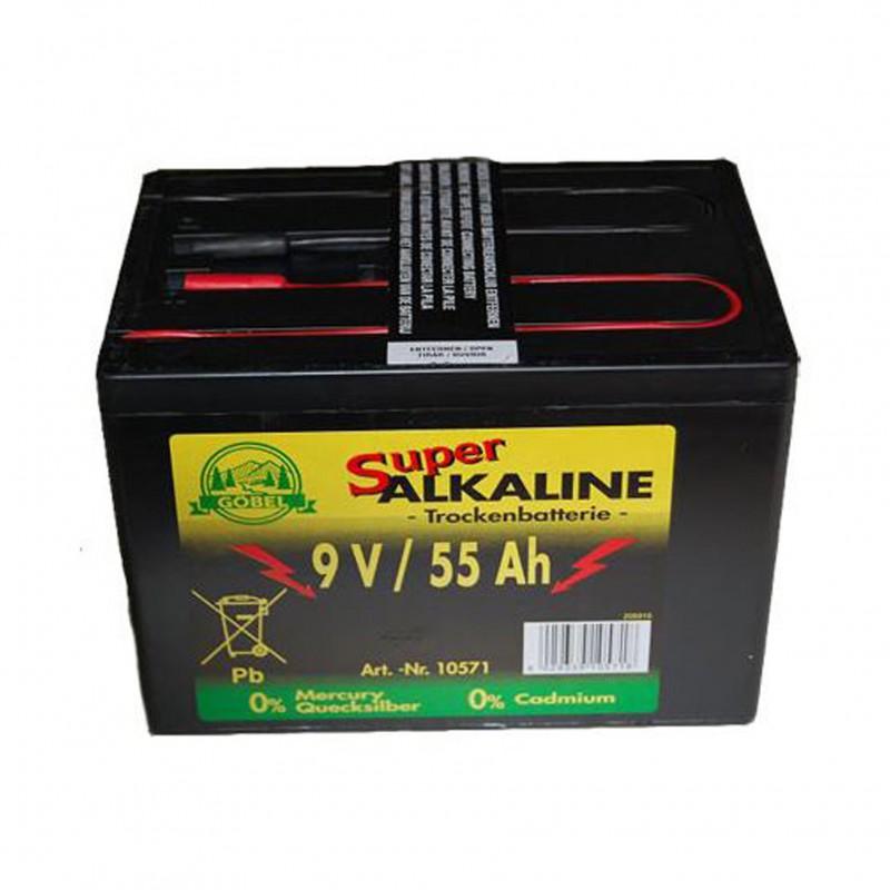 Alkaline batterij 9V/55Ah Göbel
