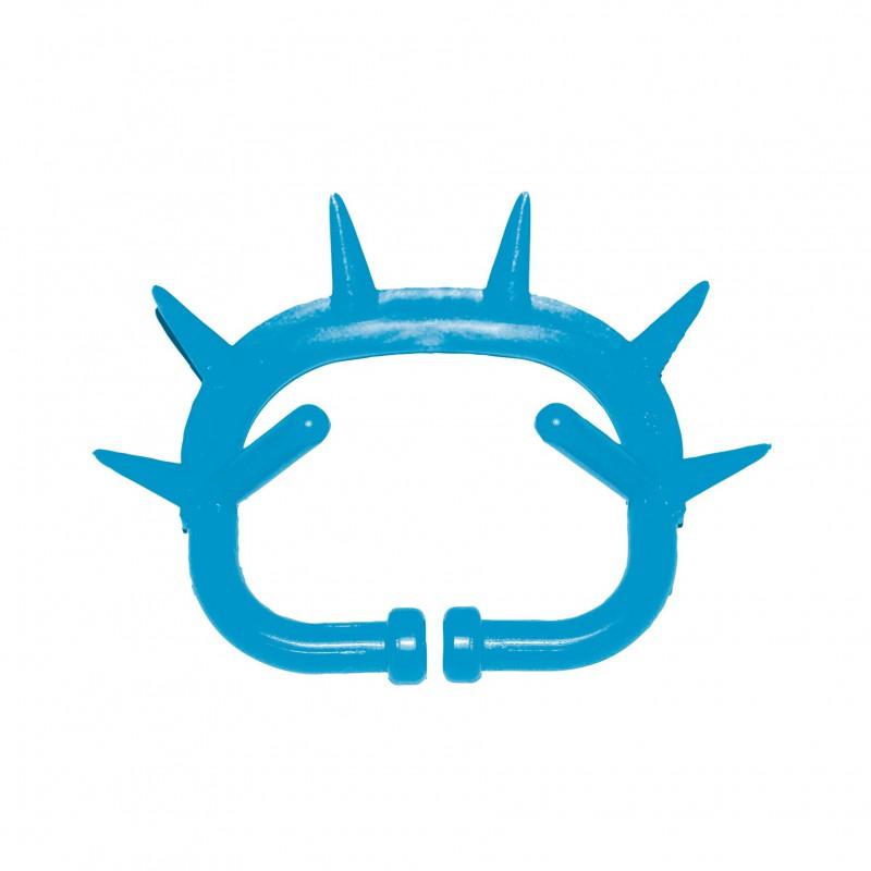 Antitêteur en plastique avec arrêt bleu