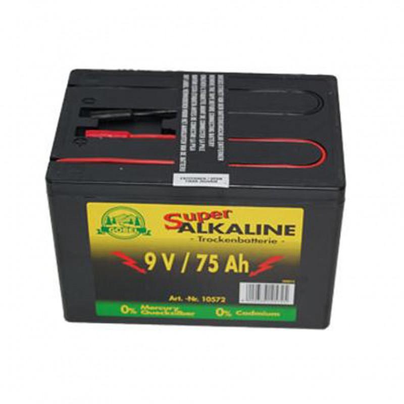 Alkaline batterij 9V/75Ah Göbel