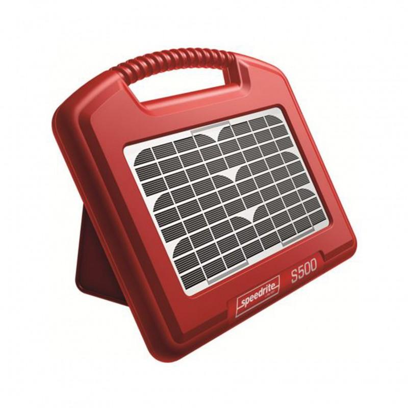 S500 accu-apparaat met geïntegreerd zonnepaneel Speedrite