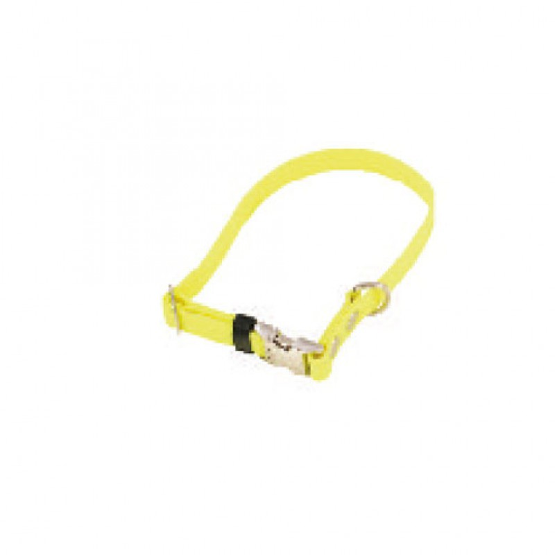 Halsband verstelbaar Biothane 19mmx30-50cm