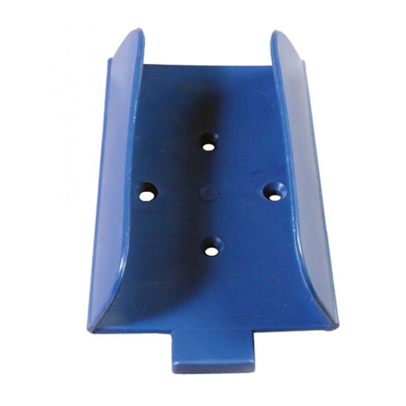 Liksteenhouder kunststof blauw