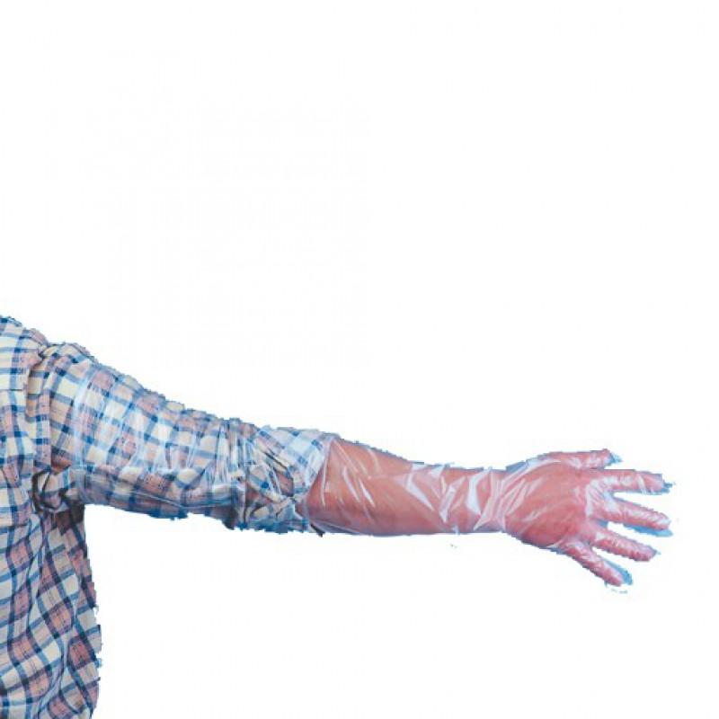 Handschoenen armlang economy, 50 stuks