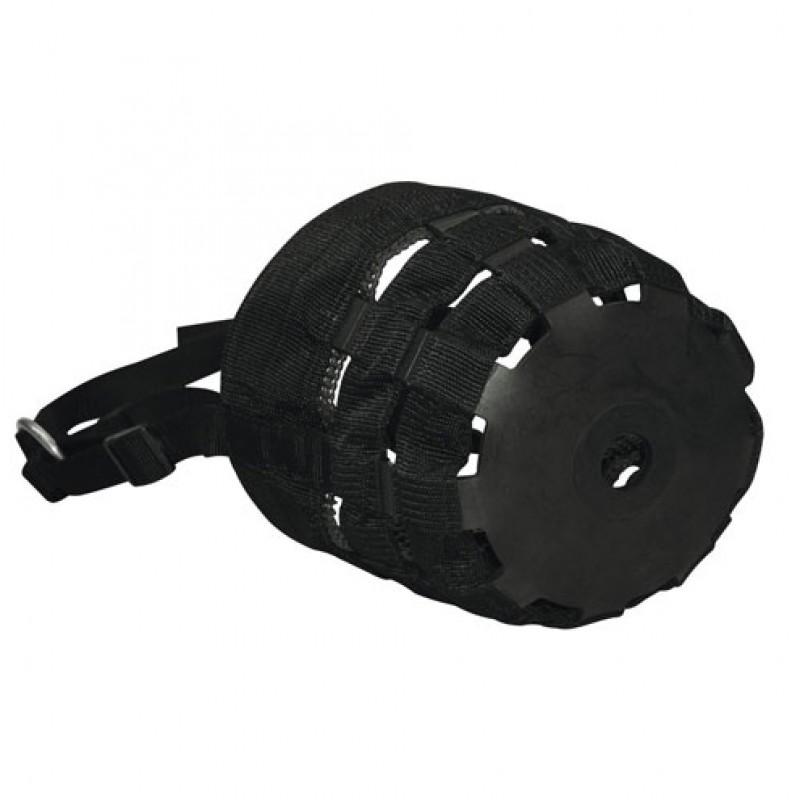 Weidemuilkorf nylon zwart