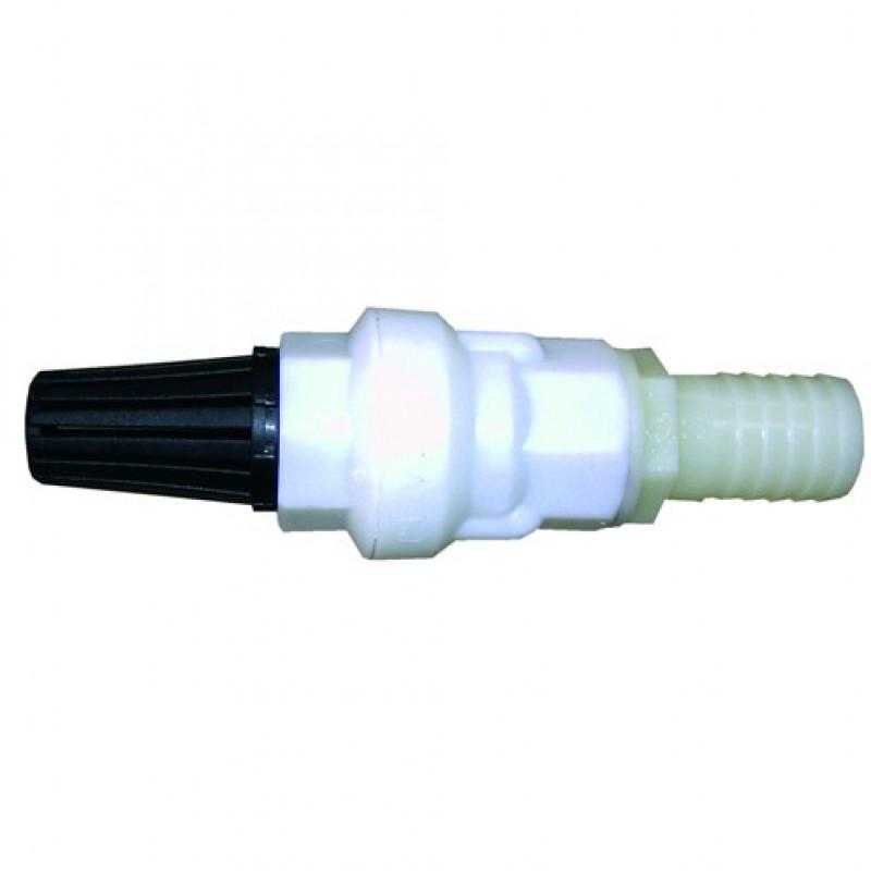 Suevia 101.0542 Kunststof filter met terugslagventiel