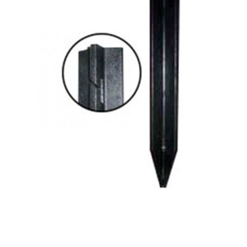 Kunststof profielpaal gepunt 7 cm x 7 cm x 185 cm