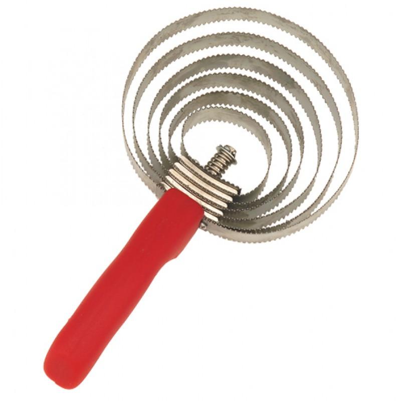 Spiraalroskam met 6 metalen ringen