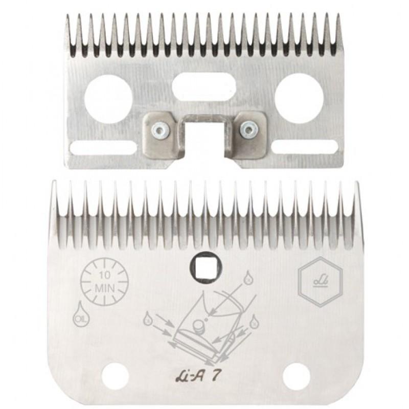 Stel messen 'A7' 19/21 tanden Liscop