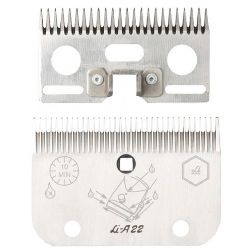 Stel messen 'A22' 24/35 tanden, 1mm, Liscop