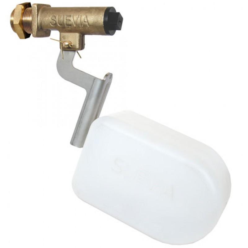 Suevia 131.0674 inbouwvlotter voor WT-drinkbakken HD (1-4 bar), met metalen arm