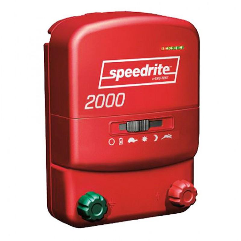 2000 électrificateur bi-énergie Speedrtie
