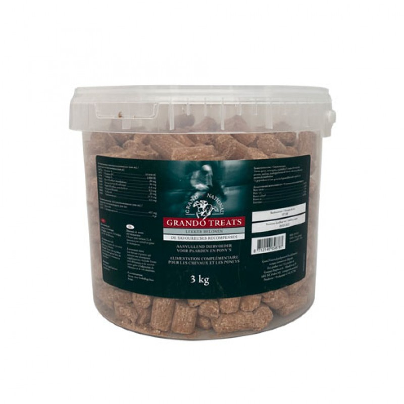 Beloonbrokjes 'Grando Treats' 3kg Grand National