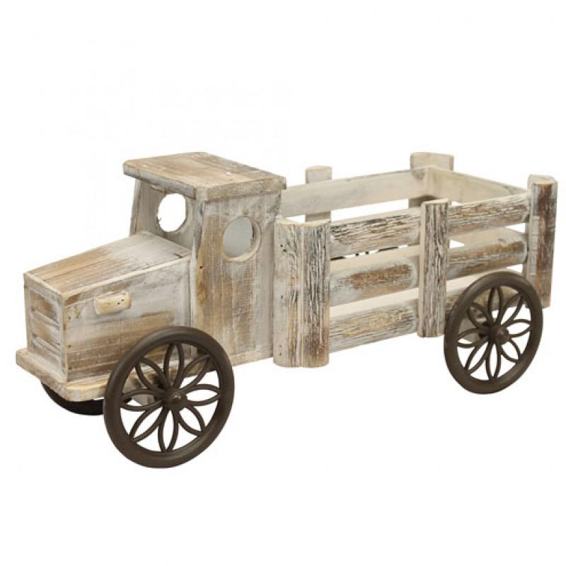 Wooden Truck Planter Primus