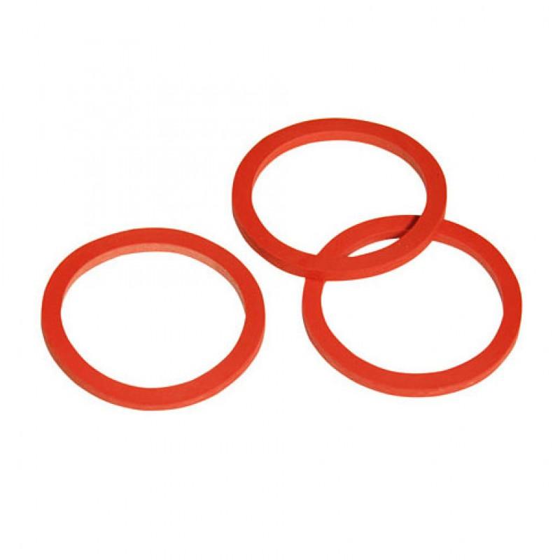 Joint rouge 3mm pour soupape sea à tétine
